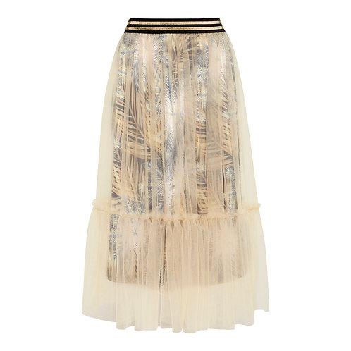 Tulle Skirt - Breeze Print