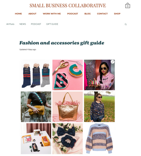 Small Business Collaborative Christmas Gift Guide