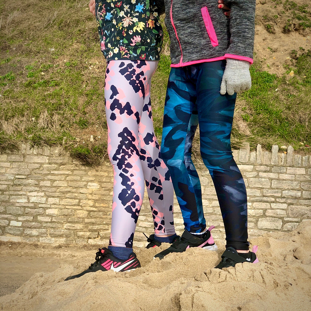 Rebecca J Mills Designer Activewear Children's Leggings