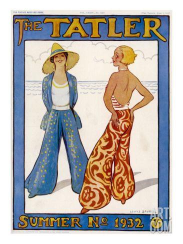 Tatler Front Cover Summer 1932 Loungewear