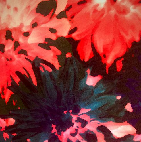 Soft Touch Velvet - Botanic Coral