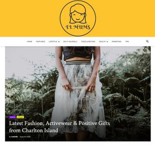 ELMUMS blog featuring Rebecca J Mills Loungewear collection