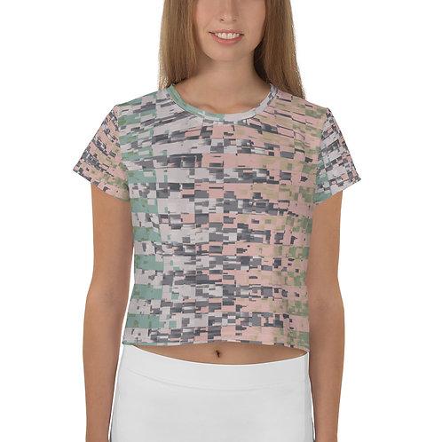 Crop T-shirt - Block