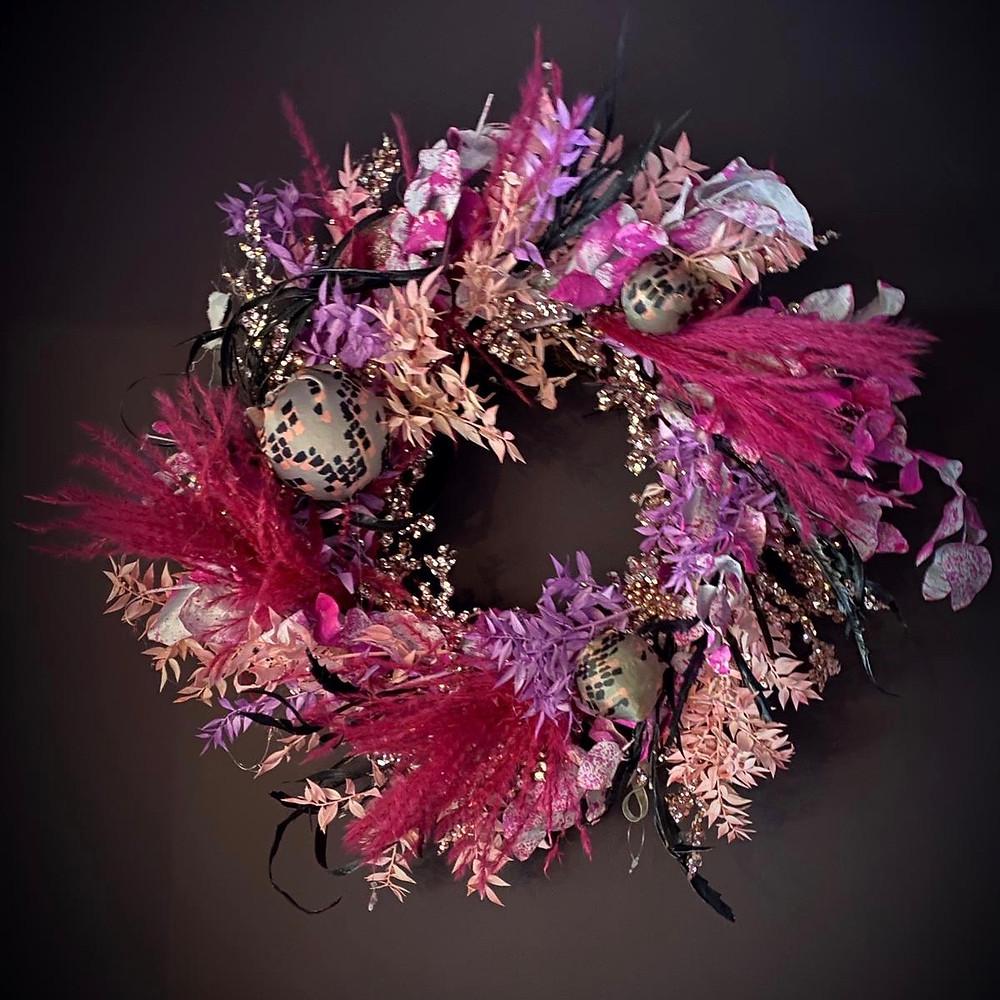 Christmas Wreath by Cassandra King