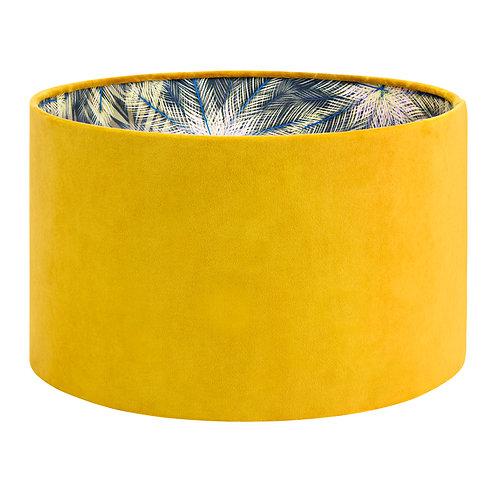 Breeze & Mustard Velvet - Lampshade