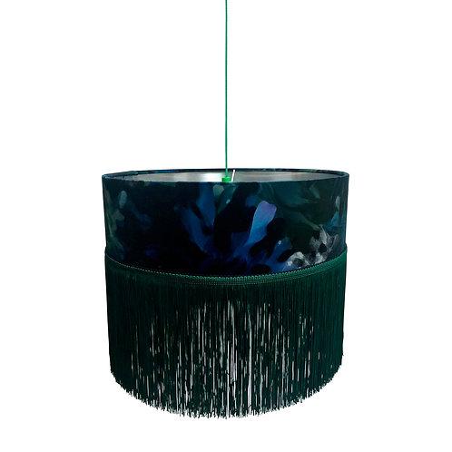 Fringed Ceiling Lampshade - Botanic