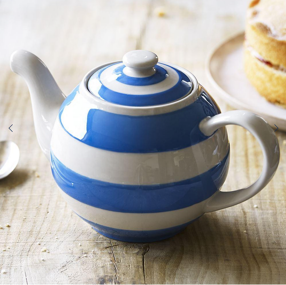 Crnish Betty Striped Teapot
