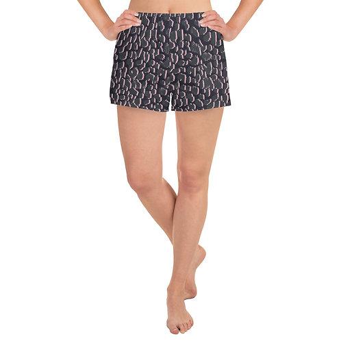 Ladies Athletic Shorts - Magic Grey