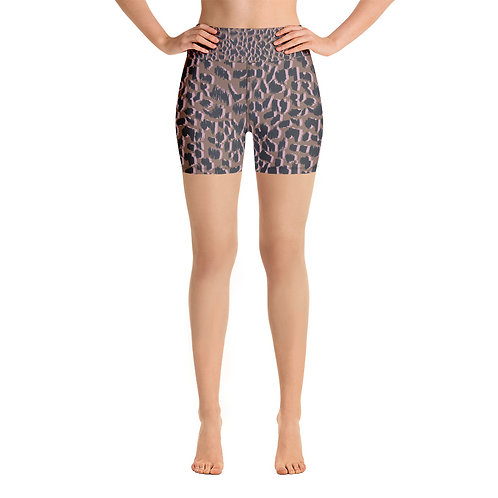 Yoga Shorts - Magic - Brown