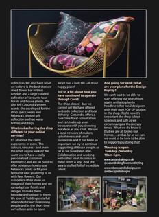 TW Magazine featuring The Design Pop Up 2