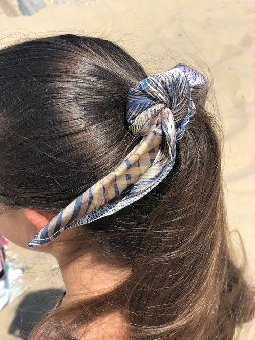 Satin Scrunchie Hair Tie - Breeze