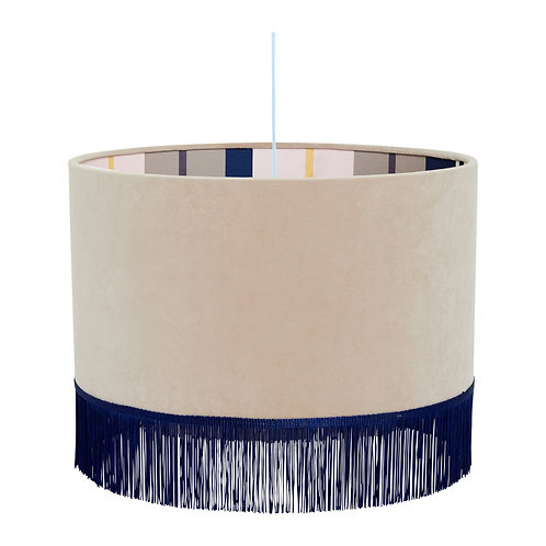 Simply - Fringed Lampshade