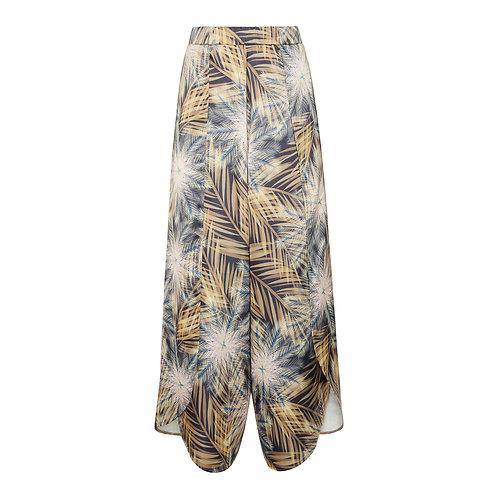 Kick Split Trousers - Breeze Print