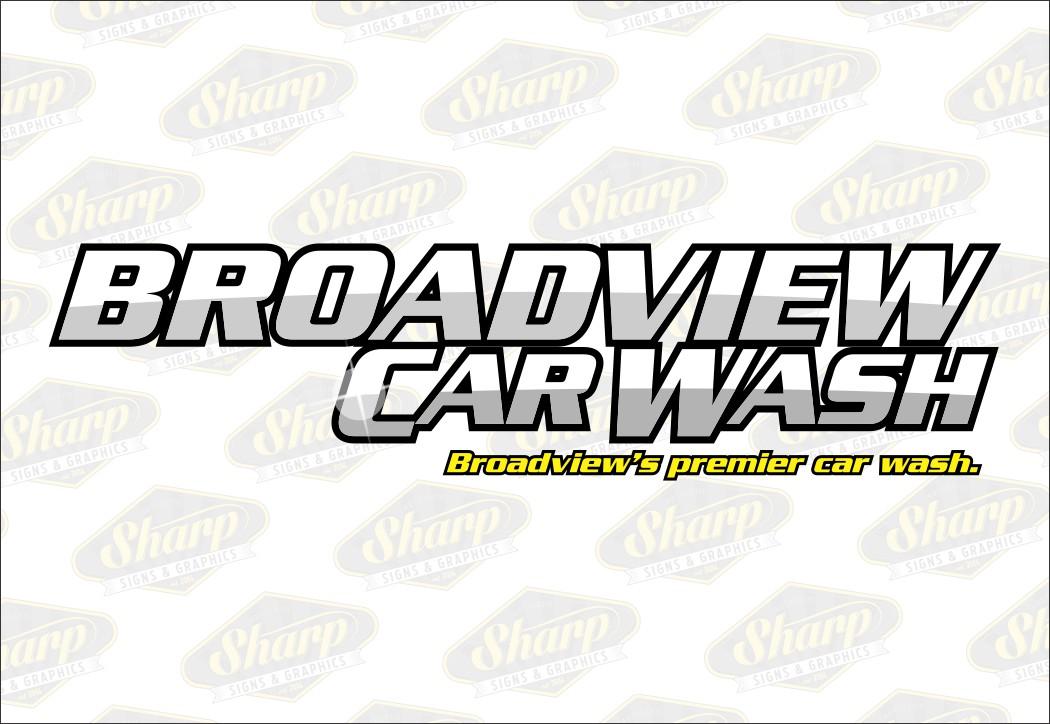 Broadview Car Wash logo