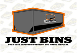 Just Bins logo