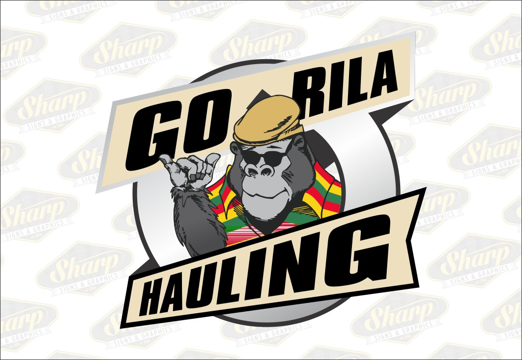 GoRilla Hauling logo