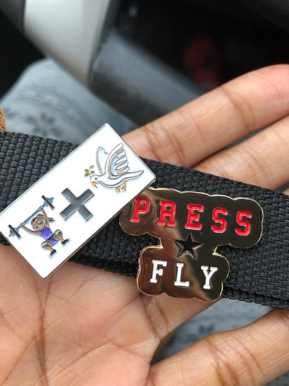 PressAndFLY Lapel Pin Set