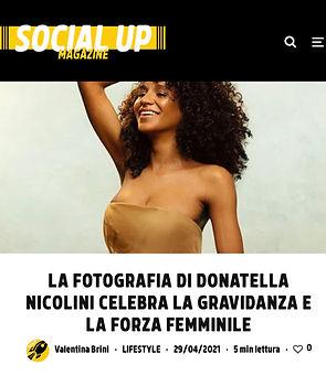 Donatella Nicolini Gravidanza Fotografia