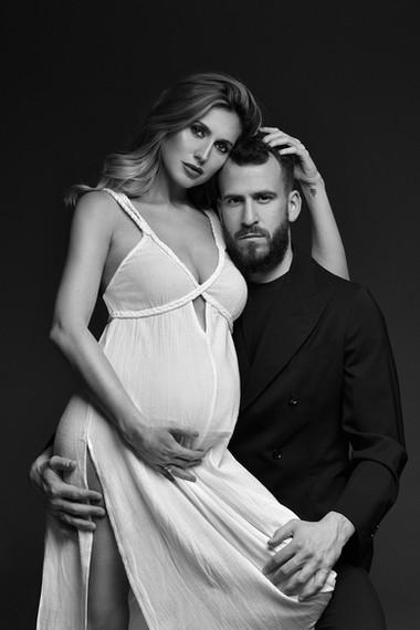 Maternity Couple Portrait by Donatella N