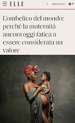 Donatella Nicolini Elle Foto Maternità.