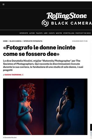 Donatella Nicolini Rolling Stone Intervi