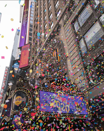 New Year's Eve: Confetti Test