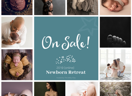 2019 Newborn Retreat - online!