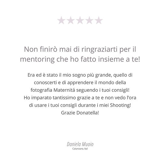 Daniela Muoio recensione Donatella Nicol