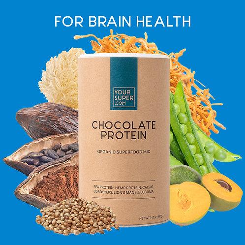 Your Super - CHOCOLATE PROTEIN MIX - Versterkt je lichaam en geest (400 gr)