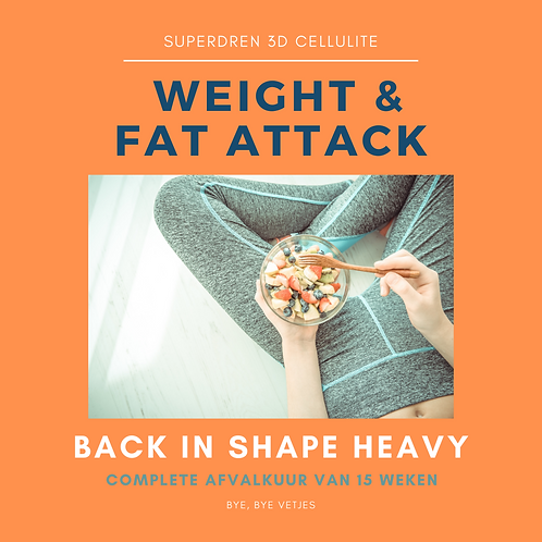 Superdren BACK IN SHAPE HEAVY -  serieus gewicht verliezen (kuur)