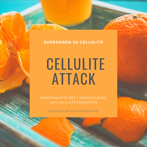 CELLULITE ATTACK - Test-it-yourself pakketje
