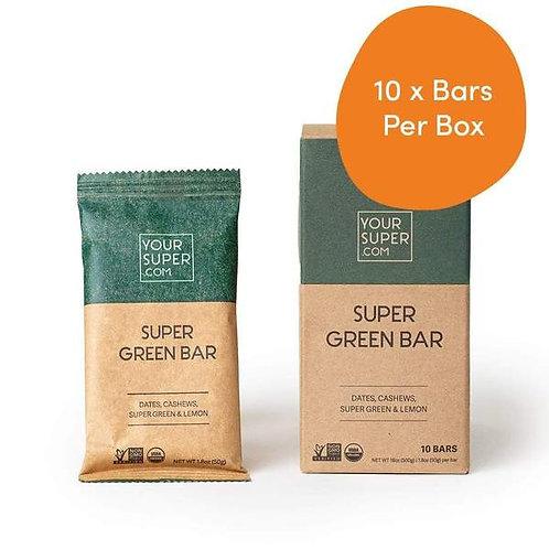 Your Super - Super Green Bar Pack (10 Bars)