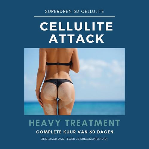 CELLULITE HEAVY TREATMENT - complete 60 dagen kuur
