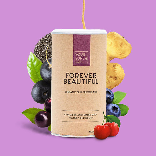 Your Super - FOREVER BEAUTIFUL - Organic Superfood Mix - Anti-aging (200g)