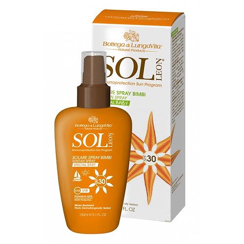 SOL Léon - Sun Protection Body Spray SPF30 - High | Special Baby (150ml)