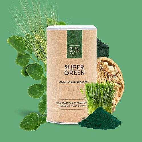 Your Super - GREEN - Organic Superfood Mix voor een verhoogde immuniteit (150g)