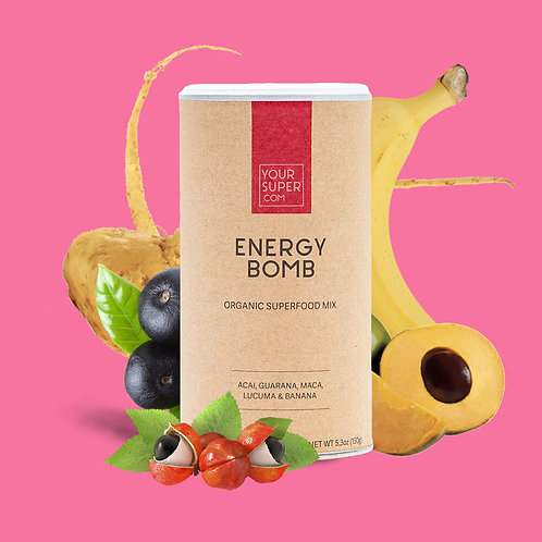 Your Super - ENERGY BOMB - Organic Superfood Mix - Energy Booster (200g)