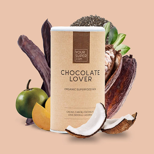 Your Super - CHOCOLATE LOVER - Organic Superfood Mix (200 gr)