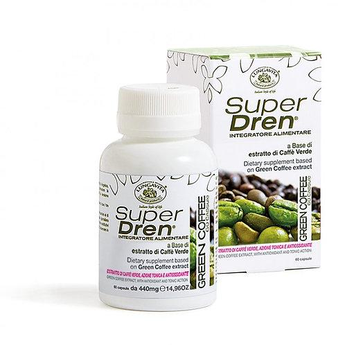 Superdren GREEN COFFEE stimuleert je stofwisseling en vetverbranding