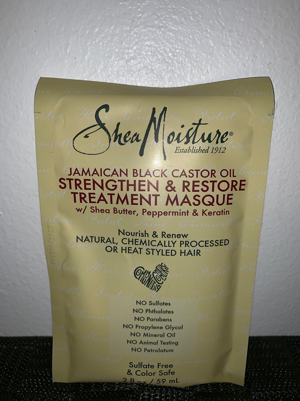 SheaMoisture Castor Oil Treatment Masque