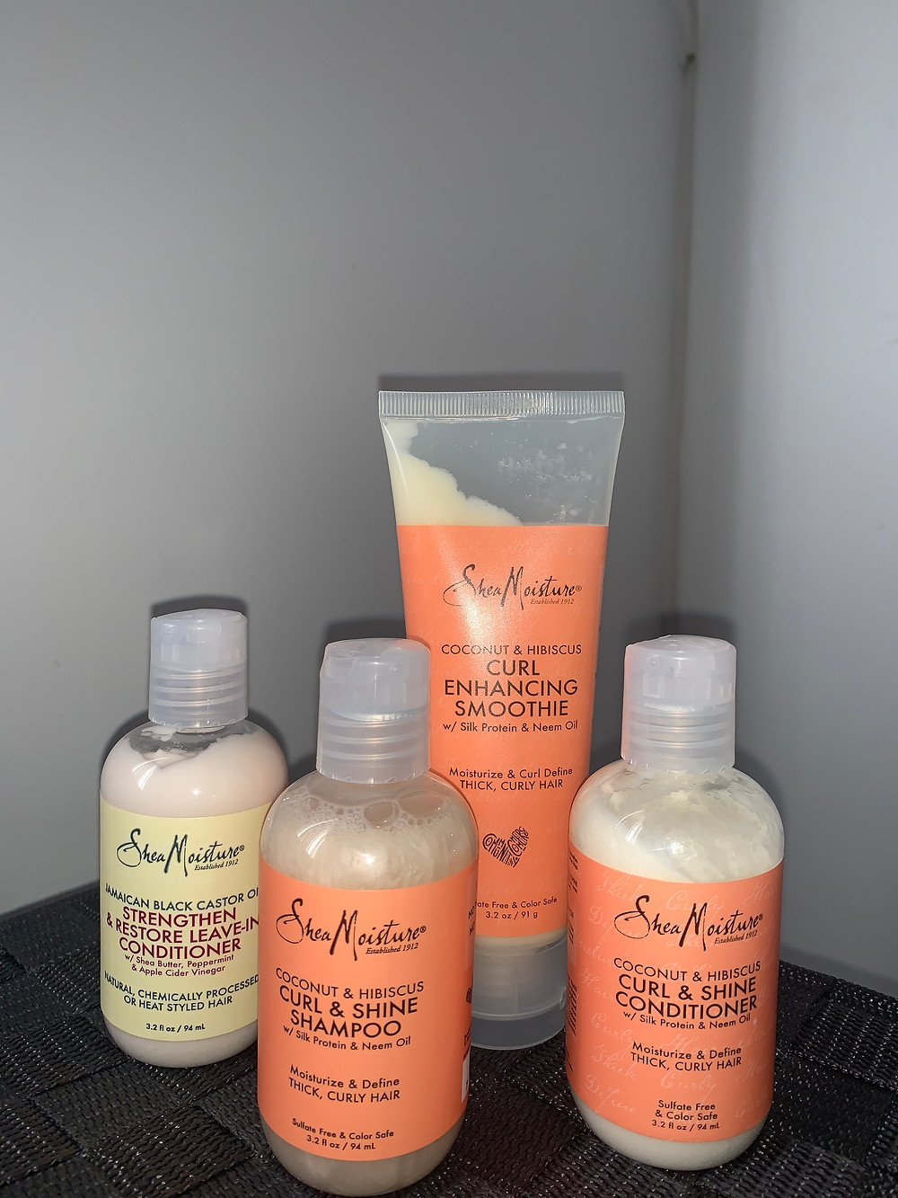 Pretty much the entire SheaMoisture line I purchased from target.