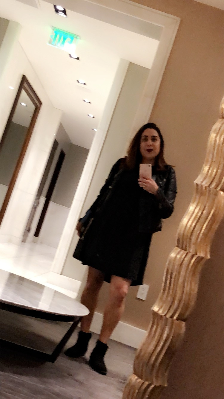 what I wore to my interview for Nordstrom customer service