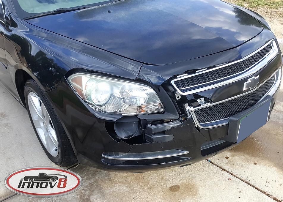 before-front-end-collision-repair-pueblo-co-chevy-malibu-