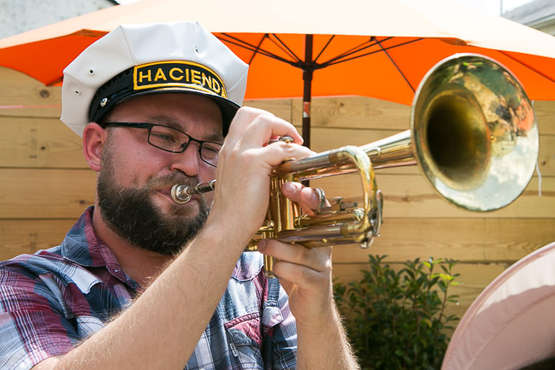 Hacienda brass band