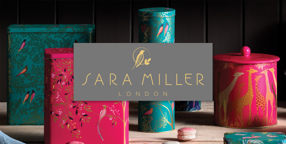 Elite tins Sara Miller tin kitchen