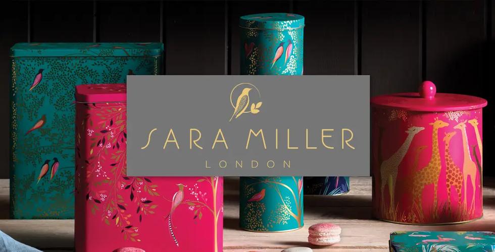 Elite tins Sara Miller tin kitchen stora