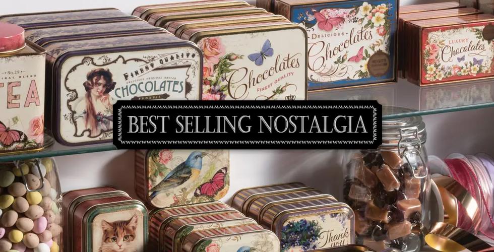Elite tins nostalgia chocolate tin gift