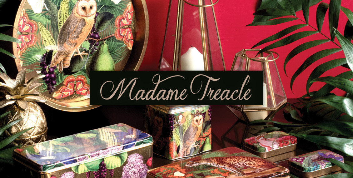 Elite tins madame treacle whimsical gard