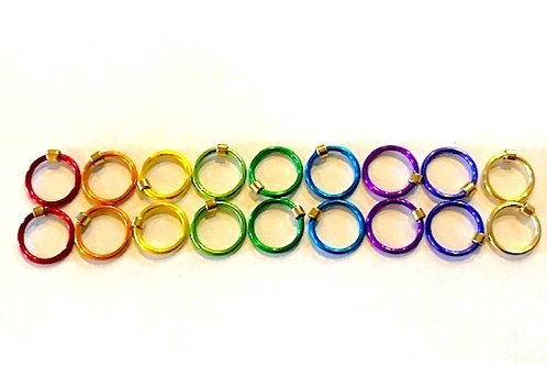 Stitch Markers - Rainbow