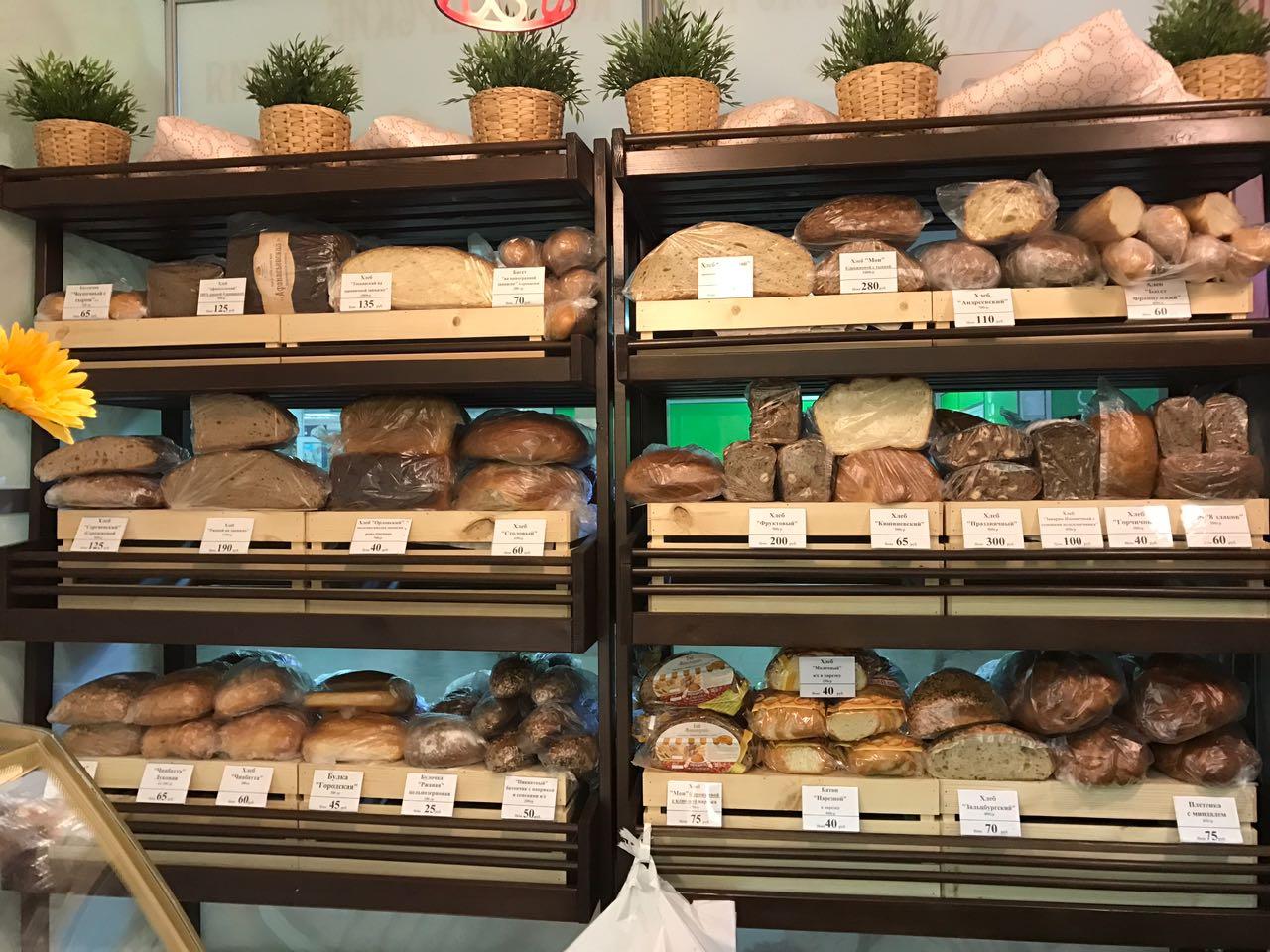 Стеллажи для хлеба
